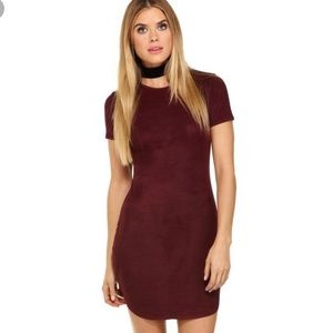Windsor Suede Dress